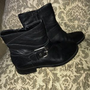 Nine West Leather Boot 5M Black Perfect Condition